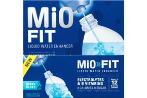 MiO Fit Berry Blast Liquid Water Enhancer 6-1.08 fl. oz. Bottles