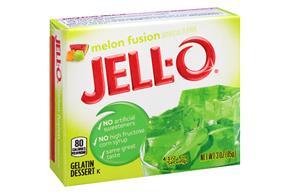 Jell-O Gelatin Melon Fusion  3 Oz  Box