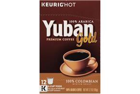Yuban Gold 100% Colombian Coffee K-Cup® Packs 12 ct Box