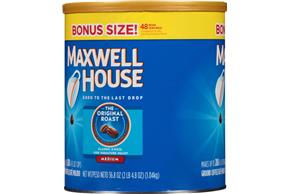 Maxwell House Original Roast Ground Coffee 36.8 oz. Canister