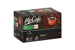 McCafe(r) Decaf Premium Roast Coffee K-Cup(r) Packs 12 ct Box