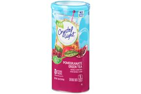 CRYSTAL LIGHT MULTISERVE Pomegranate Green Tea 1.65 oz. Packet