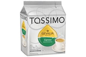 Tassimo Gevalia Decaffeinated Espresso Coffee