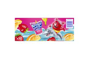 Kool-Aid Jammers Sharkleberry Fin 10-6 Fl Oz. Pouches