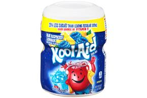 Kool-Aid Twists Ice Blue Raspberry Lemonade Soft Drink Mix 20 Oz Canister
