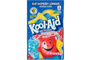 Kool-Aid Blue Raspberry Lemonade Drink Mix 0.22 oz. Packet