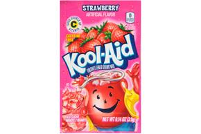 Kool-Aid Strawberry Drink Mix 0.14 oz. Packet