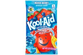 Kool-Aid Mixed Berry Drink Mix .22 oz Packet