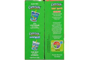 CapriSun(R) Citrus 100% Juice Blend 10-6 fl. oz. Pouches