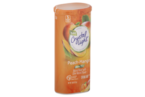 CRYSTAL LIGHT MULTISERVE Green Tea Peach Mango 1.85 oz. Packet