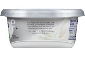 Philadelphia Plain Fat Free Cream Cheese-Soft 8 Oz Tub