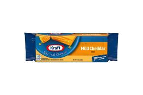 Kraft Natural Mild Cheddar Cheese - 8Oz