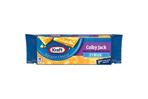 Kraft Natural 2% Milk Colby & Monterey Jack Cheese - 7Oz