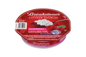 Breakstone's Cottage Doubles Raspberry Cottage Cheese 3.9 Oz. Tray
