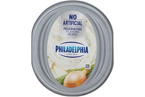 Philadelphia Chive And Onion Cream Cheese 7.5 Oz Tub