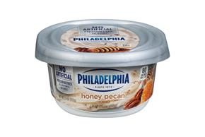 Philadelphia Honey Nut Cream Cheese 7.5 Oz Tub