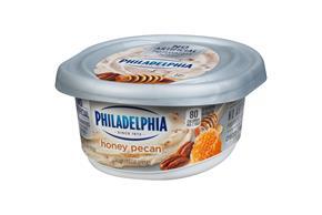 Philadelphia Honey Nut Cream Cheese 8 Oz Tub