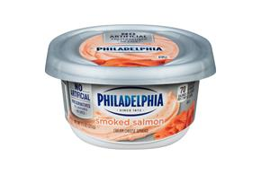 Philadelphia  Salmon  Cream Cheese 7.5 Oz Tub