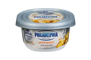 Philadelphia Pineapple Cream Cheese-Soft 7.5 Oz Tub