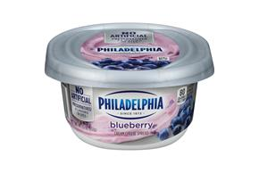 Philadelphia Blueberry Cream Cheese 8 Oz Tub