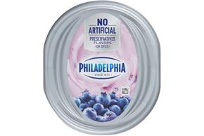 Philadelphia Blueberry Cream Cheese 7.5 Oz Tub
