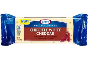 Kraft Chipotle White Cheddar Natural Cheese 8 Oz. Chunk