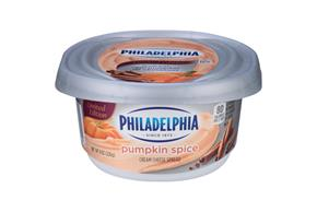 Philadelphia Pumpkin Spice Cream Cheese-Soft 8 Oz Tub