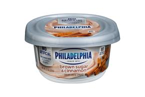 Philadelphia Brown Sugar & Cinnamon Cream Cheese Spread 8 Oz. Tub