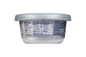 Philadelphia 1/3 Less Fat Garden Vegetable Cream Cheese Spread 8 Oz. Tub
