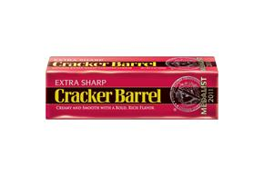 Cracker Barrel Extra Sharp Cheddar Cheese 8 Oz. Chunk