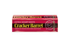 Cracker Barrel Extra Sharp-White Cheddar Cheese 8 Oz. Chunk