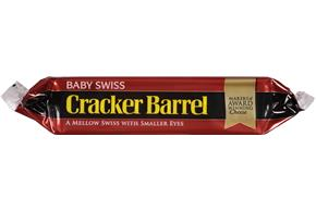 Cracker Barrel Baby Swiss Cheese 7 Oz. Chunk