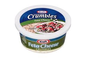 Kraft Natural Cheese Feta Cheese Crumbles 5 Oz. Tub