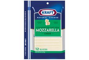 Kraft Mozzarella Cheese Slices 12 Ct
