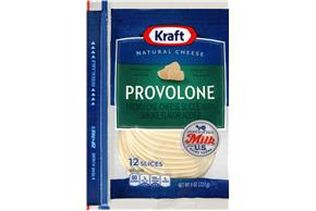 Kraft Provolone Cheese Slices - 10Ct