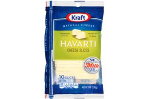 Kraft Havarti Cheese Slices - 10Ct