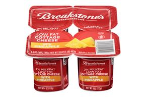 Breakstones Pineapple 2 Cottage Cheese 4 Oz Cups