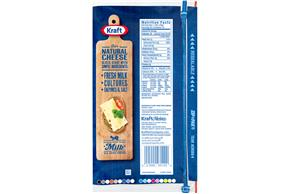 Kraft Big Slice Aged Swiss Natural Cheese Slices  8 Oz Film Wrapped (10 Slices)