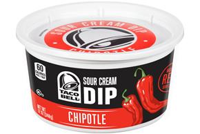 Taco Bell(R) Chipotle Sour Cream Dip 12 oz. Tub