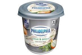 Philadelphia  Chive And Onion Cream Cheese-Soft 16 Oz Tub