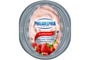 Philadelphia Strawberry Cream Cheese-Soft 16 Oz Tub