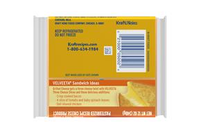 Velveeta Slices 3 Cheese Blend Cheese 16 Ct Pack