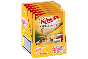 Velveeta Jalapeno Cheese Sauce 6-4 Oz. Pouches Display