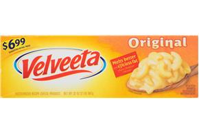 Velveeta Original Cheese $6.99 Prepriced 32 Oz. Box