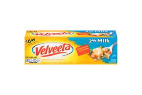 Velveeta Cheese With 2% Milk $6.99 Prepriced 32 Oz. Box