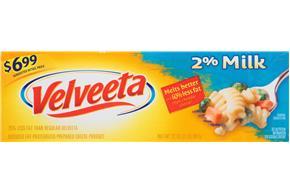 Velveeta Cheese With 2% Milk $6.99 Prepriced 32 Oz. Box