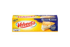 Velveeta Queso Blanco Cheese $6.99 Prepriced 32 Oz. Box