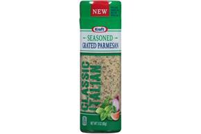 Kraft Classic Italian Seasoned Grated Parmesan Cheese 3 Oz. Shaker