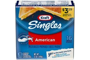 Kraft Singles American Cheese Slices 16 Ct Pack