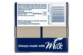 Kraft Singles White American Cheese Slices 16 Ct Pack